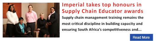 Imperial takes top honours in Supply Chain Educator awards