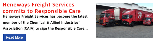 Heneways Freight Services commits to Responsible Care