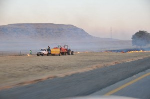 To minimize the risk of veld fires along its route, the N3TC started its programme of burning firebreaks within the road reserve (strips of land directly adjacent to the main road) in May and this activity will continue through to the end of July.