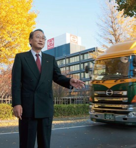 "Masakazu Ichikawa, chairman of the board of Hino Motors Limited: """"The majority of Hino's sales are made in Japan and South-East Asia but we recognise the importance of African markets as they are showing rapid growth and have high potential."""