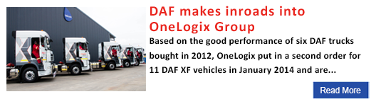DAF makes inroads into OneLogix Group