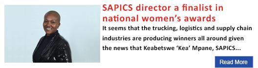 SAPICS director a finalist in national women's awards