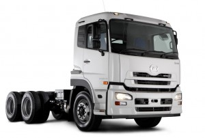 The good folk at UD Trucks were rubbing their hands in glee at news of the June sales with 172 Quon trucks sold in the Extra Heavy Vehicle segment. Pictured here is the new Quon GW26 450 6x4 truck-tractor targeted at the popular 440 to 460hp market.