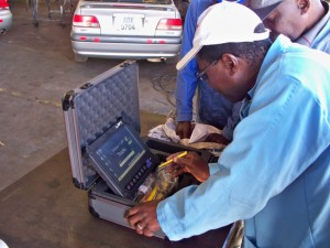 New diagnostics technology donated by Pullman Fleet Services will help ensure that Zambia's ITC fleet of training vehicles remains in excellent condition.