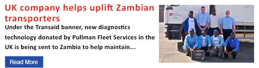 UK company helps uplift Zambian transporters