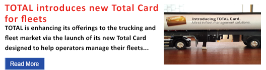 TOTAL introduces new Total Card for fleets