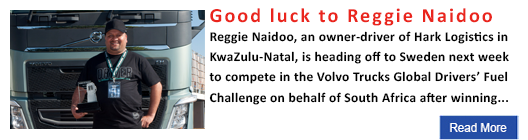 Good luck to Reggie Naidoo