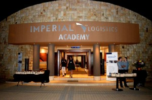 The main entrance to the new Imperial Logistics Academy. Looks good doesn't it.