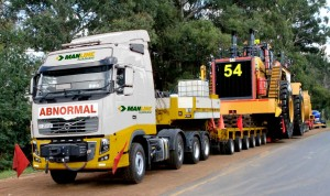 With the acquisition of 80% of Kumkani Heavy Haulage by Barloworld Transport, the Kumkani vehicles will now be branded as Manline Kumkani.