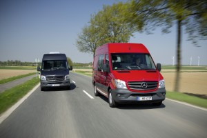 The Sprinter - no 1 in its class - now more environmentally friendly, economical and safer.