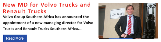 New MD for Volvo Trucks and Renault Trucks