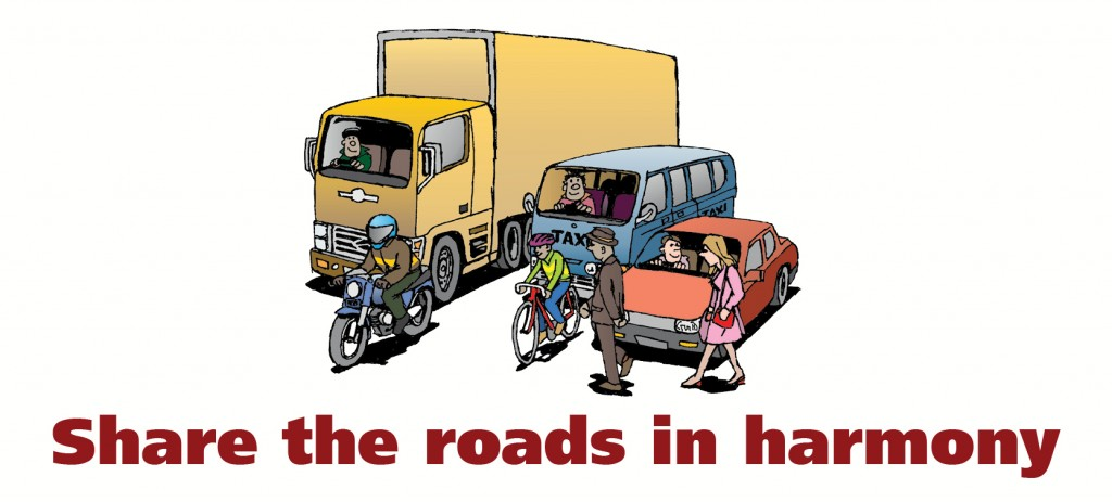 Share the roads