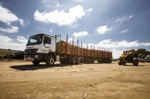 The new fourth generation PBS timber vehicles launched by Timber 24 have a variety of modifications which have resulted in making the combination as short as possible without sacrificing payload or safety.