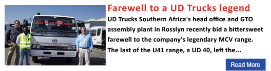 Farewell to a UD Trucks legend