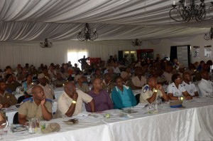 Some 80 traffic officials, including some from the training college in Pretoria, attended the Brake & Tyre Watch training session in Heidelberg. All expressed gratitude after the event saying they had learnt a lot that they would now be able to implement out on the roads.