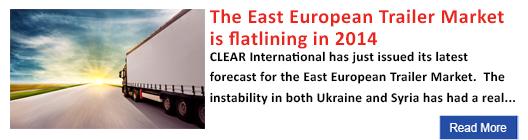 The East European trailer market is flatlining in 2014
