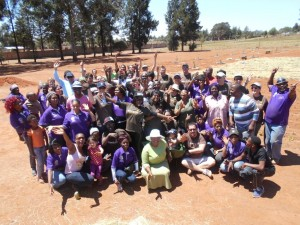 Celebrating giving. During the month of October, UPS's nearly 400 000 employees worldwide - with 286 of these being based in South Africa - donated 315 000 volunteer hours to community service efforts through the company's annual Global Volunteer Month. YeBo GoGo.