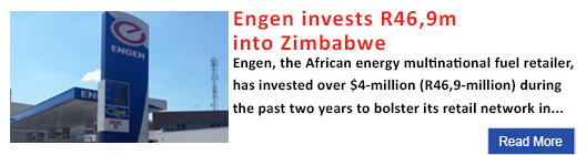 Engen invests R46,9m  into Zimbabwe