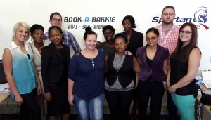 The team, from left: Bianca, Emily, Bongani, Adam, Denika, Mathapelo, Paulina, Mashudu, Ricardia, Jared and Candice.