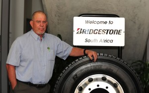 Mike Halforty, Bridgestone South Africa, CEO - gearing up for growth in the commercial sector.