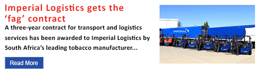 Imperial Logistics gets the 'fag' contract