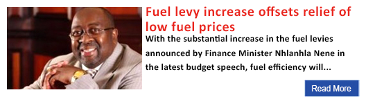 Fuel levy increase offsets relief of low fuel price