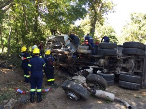 One dead after truck accident
