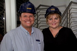 Dachser SA Managing Director Detlev Duve and Dachser Johannesburg Branch Manager Sera Fineberg,