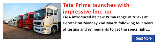 Tata Prima launches with impressive line-up