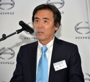 "Junsuke Ando, general manager Europe and Africa Division, Hino Motors Limited: ""Hino recognises that there will be no Hino global success without Hino success in South Africa."""