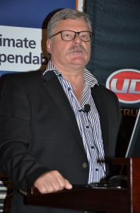 'Attributes of the UD heavy truck range included durability and flexibility ' says Rory Schulz, MD of UD Trucks Southern Africa.