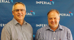 From left to right - Dawid Fourie, Managing Director and Johann Schreuder, Business Development Director from Imperial Dedicated contacts.