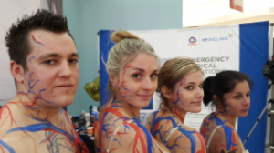 Join ER24 at Clearwater Mall for a live human art exhibition to raise awareness for National Blood Donor Month today, 17th June 2015.
