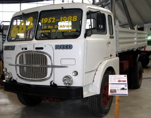 Blast from the past. The legendary Fiat 682 truck became one of the longest surviving truck models ever to have been produced - from 1952 to 1988. The New 682 is intended to carry on the tradition of its predecessor.