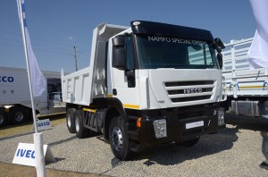 The New 682 from Iveco in tipper guise.