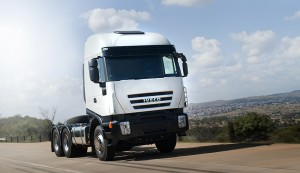 The New 682 from Iveco 6x4 truck tractor derivative.