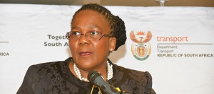 """SATAWU marched on the Department of Transport offices in Pretoria this week to demand the immediate resignation of Transport Minister Dipuo Peters stating that """"her department has stumble from one failure to another""""."""