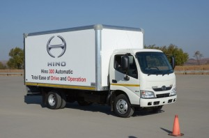 The Hino 614 long wheel base model.