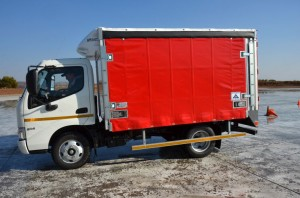 What a cutie. The Hino 614 short wheel base with Hino's six-speed A860E fully automatic transmission has been added to the range.