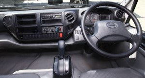 The dashboard has easily legible dials with a multi-function display while all the hand controls have been ergonomically designed for convenience and ease of use.
