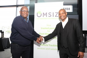 Anele Pamba Managing Director of Umsizi and Paul Nghala