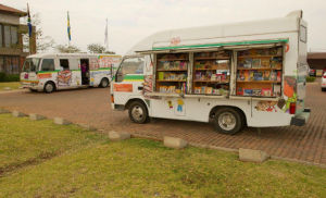 North West Mobile Library on display