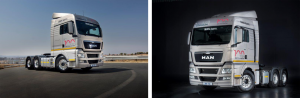 It's a real beauty. The aerodynamic design of the TGX EfficientLine cab along with Euro 5 SCR technology serves to lower fuel consumption.