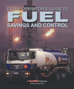 The book Fuel Savings and Control is an essential for operators - fuel spend is the biggest operation cost for fleets today - published by <em>FleetWatch</em> and co-sponsored by Engen.