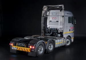 Powered by the MAN D26 common-rail diesel engine, the 540hp/2500Nm TGX 26.540 gives long-haul operators an additional 60hp over MAN's SA long-haul stalwart, the TGS 26.480 6x4 BLS (LX).