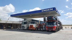 Plans are under way at the new Engen Gateway Truck Stop at Beitbridge, Musina to expand the current site from a four-bay to a 10-bay refuelling forecourt allowing for more traffic while offering easier access. Drivers are sure to welcome this new truck stop and its rest facilities which offer ablution facilities and showers. A Wellness Clinic – which operates daily from 8am to 4pm - is also available on site as are eFuel Wireless facilities. The Engen Diesel Card (EDC), which was not available prior to the Engen take-over, is now also accessible. It's all the right stuff.