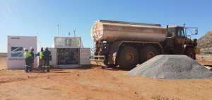 To fully service the Gamsberg Project contract, Gulfstream has invested in on-site fuel infrastructure - including fuel tanks and pumps – and has also deployed an automated fuel management system through a third party partner, Gilbarco AFS.
