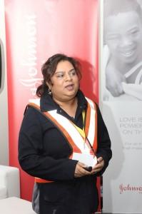 Luan de Vries - Head of customer logistic services for Johnson & Johnson Consumer