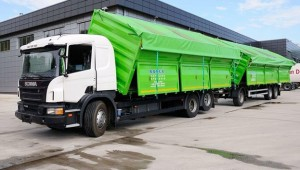 Grain truck and trailer in the Ukraine – instability in the Ukraine has had a devastating impact on trailers demand in Russia.