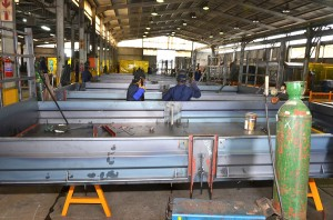 The real world of trailer manufacturing is a welding intensive sector which requires welding rods, steel plates, oxygen for special clothing or ventilation. Using the Soldamatic augmented-reality welding simulator eliminates these costs while still giving the reality of welding.